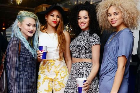 celebrity jungle members neon jungle reveal their wild side as two of their members