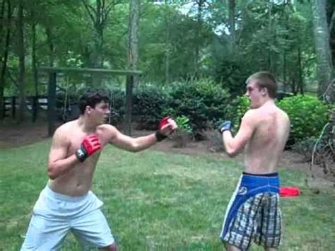 backyard mma fights backyard mma fight youtube