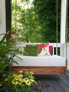 Diy Porch Daybed 15 Outdoor Relaxing Hanging Daybeds Always In Trend