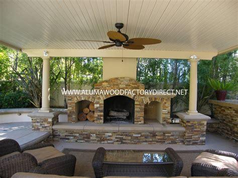 outdoor rooms direct alumawood newport flat pan freestanding patio cover in
