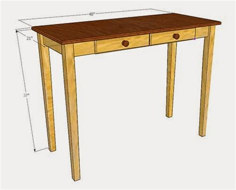 Sofa Table Measurements by Simply Easy Diy Diy Table Sofa Console Table