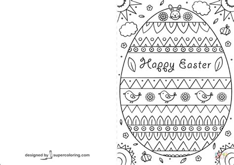 Free Easter Card Templates To Colour by Easter Cards Printable Black And White Happy Easter Sunday