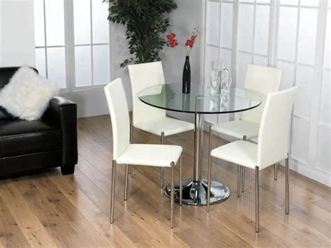 small dining table chairs with small glass dining