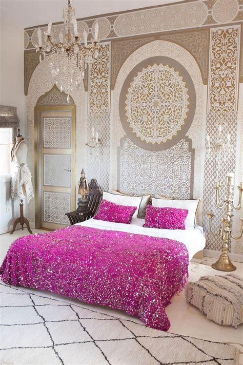 chambre style marocain l 233 clairage dans la d 233 coration des riads au maroc