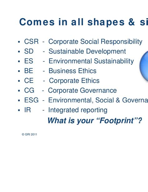 Business Ethics And Corporate Governance Notes For Mba by Finding Value In Non Financial Reporting