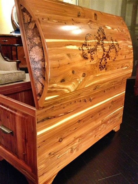 Handmade Chest - handmade cedar chest finish custom by