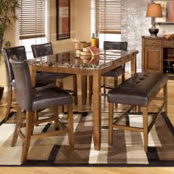 pub dining table with bench gallery