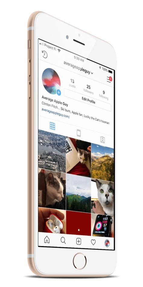 instagram update brings support for the iphone xr and iphone xs max average apple