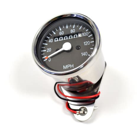 Mini Tacho Motorrad by Mini Universal Motorcycle Mechanical 140 Mph Speedo