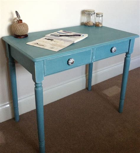 gorgeous side table painted in sloan provence