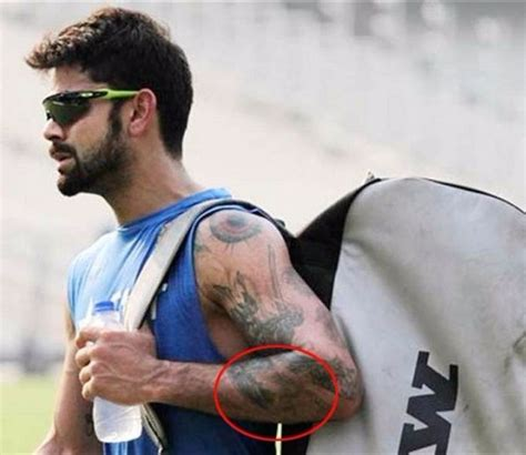 virat kohli s 8 tattoos their meanings guru