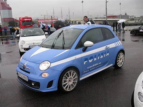 Fiat 500 Polizia Blue Biru fiat 500 abarth quot polizia quot a photo on flickriver