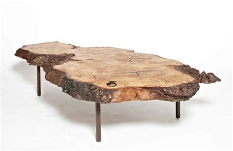 Coffee Table Legs Uk Holt Harrison Burl Oak Coffee Table Square Legs