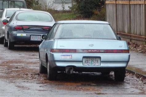 classic subaru curbside classic subaru xt forward to the future in 1985