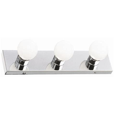 design house lighting catalog design house 3 light polished chrome vanity light 500850