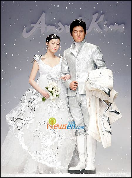 goo hye sun dress in wedding gowns andre kim f w collection 2008 in busan 29 04 08 k