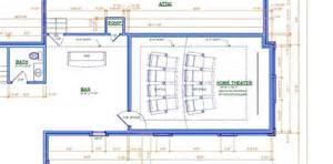 Home Theater Floor Plan Home Theater Room Floor Plan House Design Plans