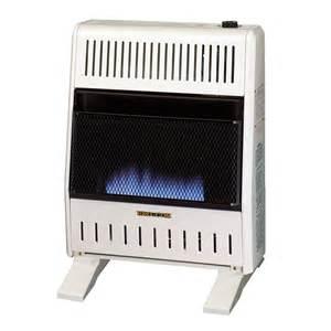 dual fuel blue ventless wall heater 20 000 btu