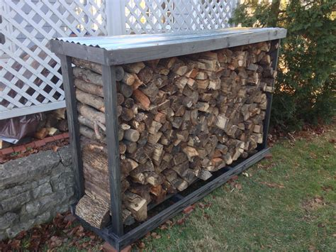 build firewood cutting rack 50 firewood rack 4x 2 quot x4 quot x5 treated lumber