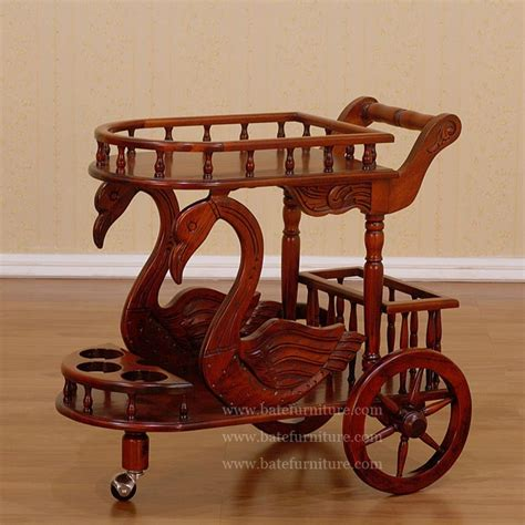 Painted Dining Room Sets Swan Tea Cart French Reproductions Furniture