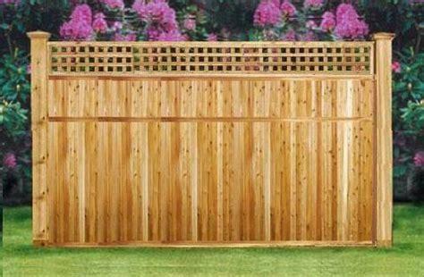 shop ft   ft wide cedar lattice top panels