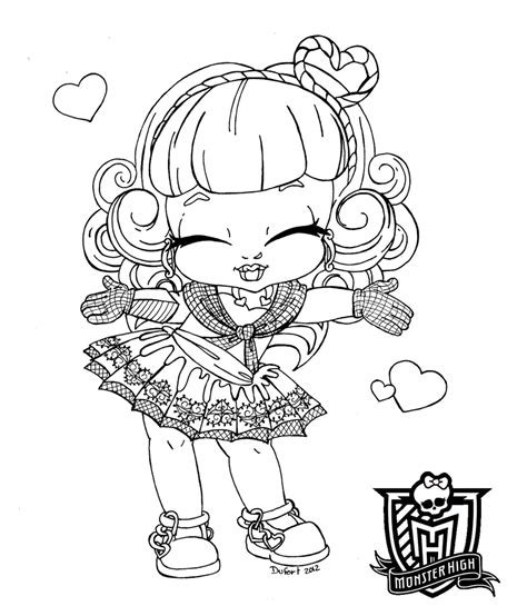 Monster High Coloring Pages Cupid | baby c a cupid by jadedragonne on deviantart