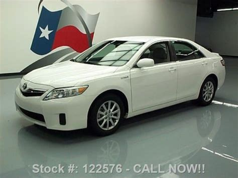 electric and cars manual 2010 toyota camry hybrid on board diagnostic system sell used 2010 toyota camry hybrid gas electric rear spoiler 43k texas direct auto in stafford