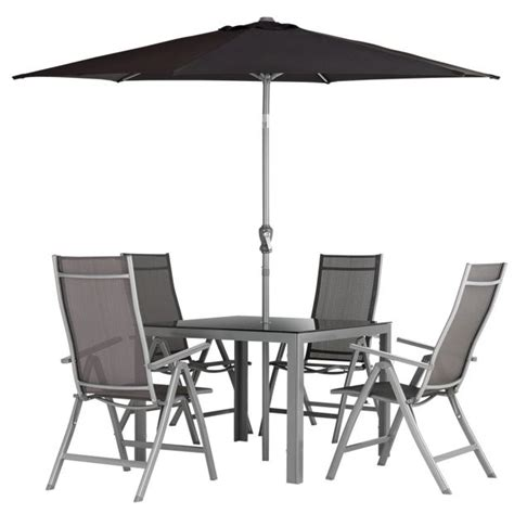 Garden Table Chair Set Buy Malibu 4 Seater Steel Patio Set At Argos Co Uk Your