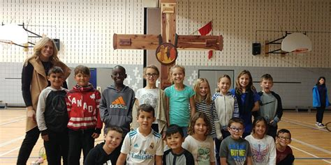 Blessed Sacrament School Kitchener by St Augustine Ces Faith In Waterloo Catholic