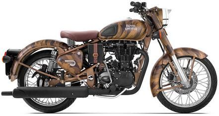 royal enfield classic 500 desert storm despatch edition