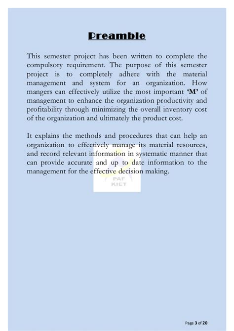 Cost Accounting Projects Mba Students by Semester Term Project Cost Managerial Accounting