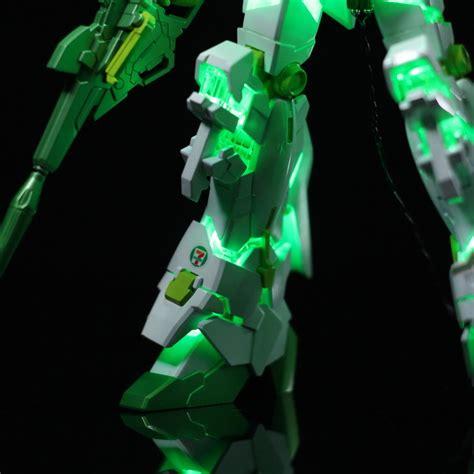 Hg 1144 Zsaa Unicorn Ver hg 1144 unicorn gundam 7 eleven ver customized build w led