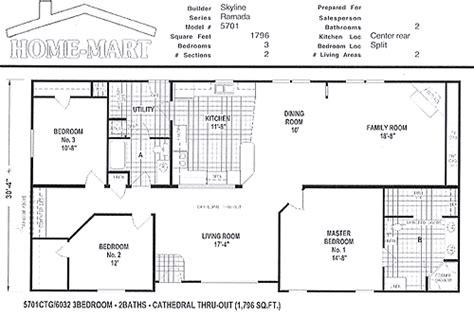 fuqua homes floor plans fuqua modular home floor plans home plan