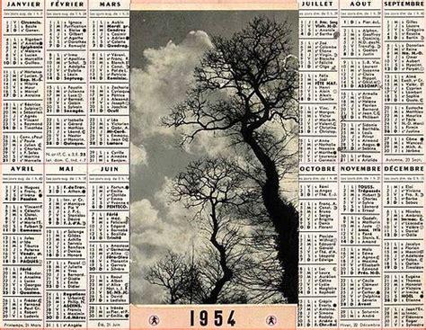 Calendrier De 1954 1954 Geneawiki