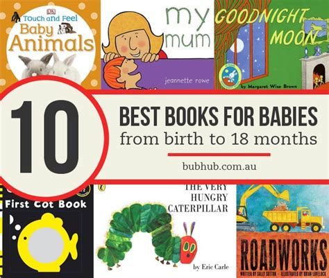 birthing a books top 10 best books for babies from birth to 18 months bub hub