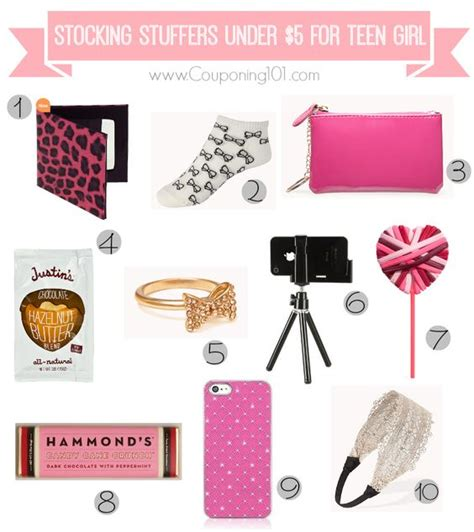 cute stocking stuffers 10 stocking stuffer ideas for teen girls for 5 or less