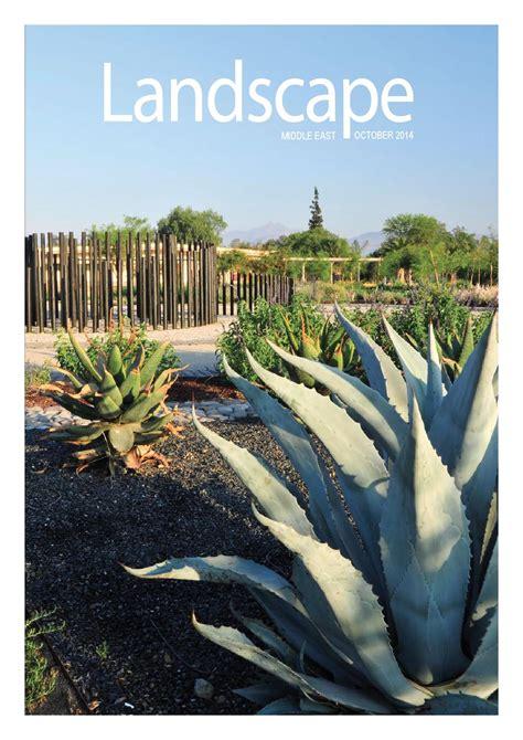 landscape magazine october 2014 by allan castro issuu