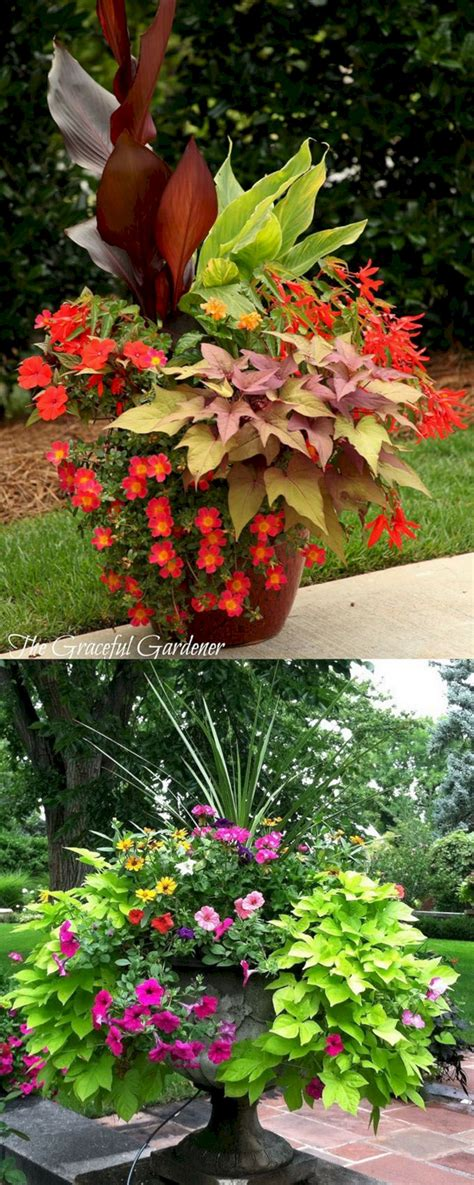 front porch flower planter ideas 39 front porch flower