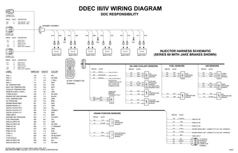 detroit diesel series 60 ecm wiring diagram i am working on a series 60 detroit that cylinders 1 2