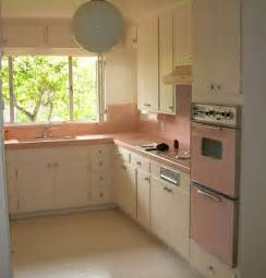 Used Kitchen Cabinets For Sale By Owner by 1950 S Atomic Ranch House 1950 S Pink Kitchen Appliances