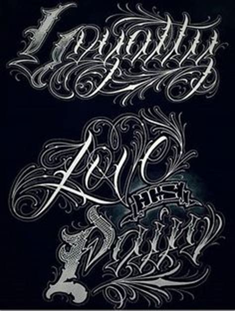 lowrider tattoo font generator chicano lettering alphabet 1000 images about fonts
