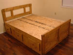 Bed Frames Cork Custom Size And Size Platform Captain S Bed By