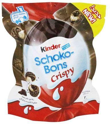 Kinder Crispy Schoko Bons 52 2g kinder schoko bons crispy chocolate 92 g price from danube
