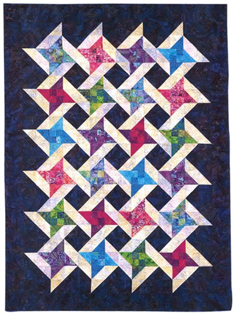 Friendship Quilt Patterns by Martingale Interlocking Friendship Quilt Epattern