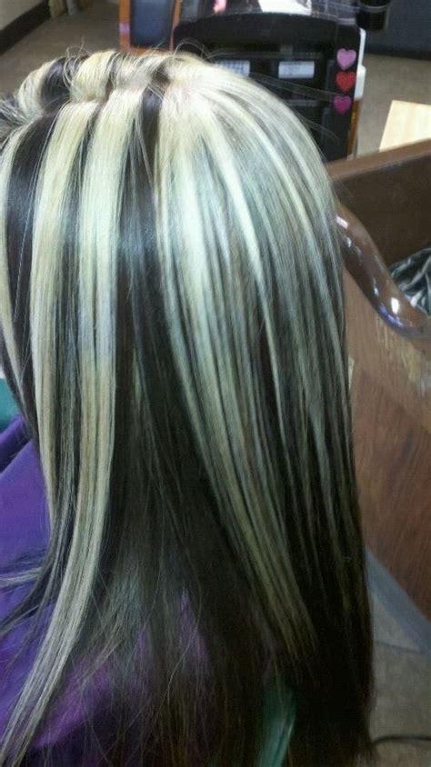 rayitos de luna o mechas oscuras para cabello fotos de los peinados imagenes de cabello negro con rayitos rubio auto design tech