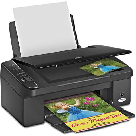 Printer Epson All In One epson stylus nx115 all in one printer c11ca46211 b h photo