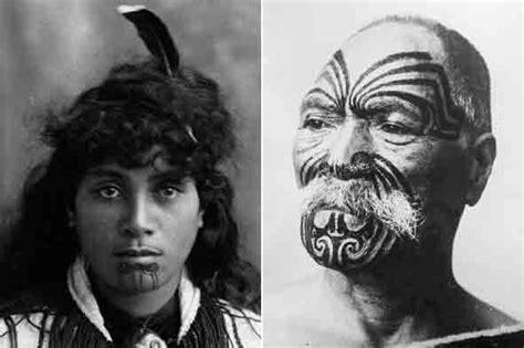 maori face tattoo maori meaning history