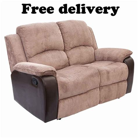 two seat recliner sofa two seat recliner sofa toletta chocolate 2 seat