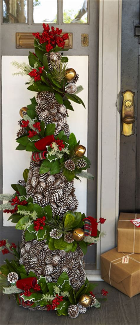 horchow christmas tree rustic decorating ideas canadian log homes