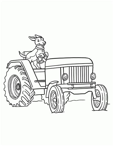 coloring pages tractors tractor coloring pages to print coloring home
